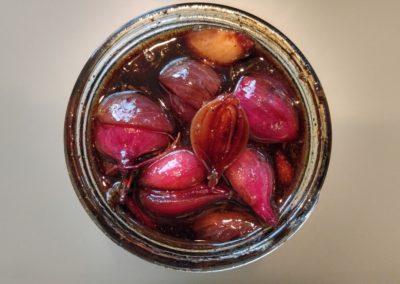 House balsamic onions