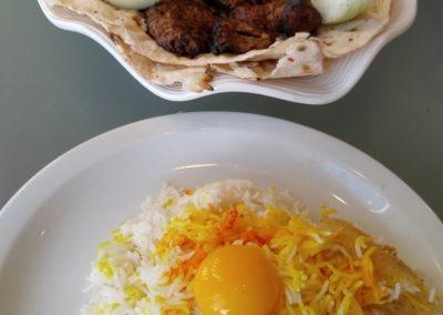 Kabob dinner