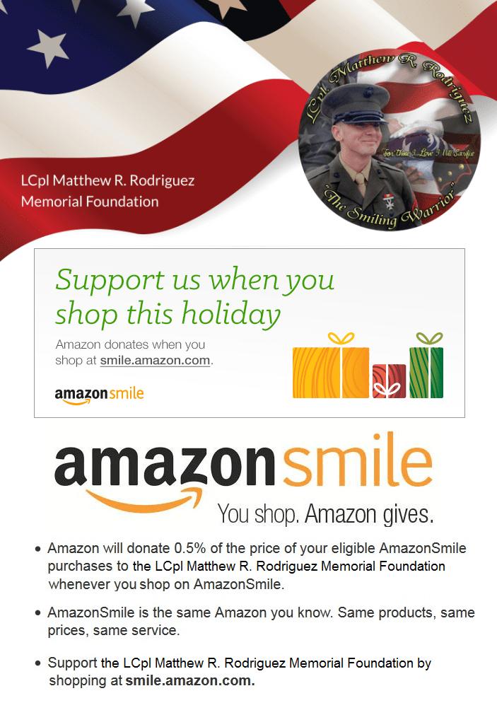 AmazonSmile HolidayS upport