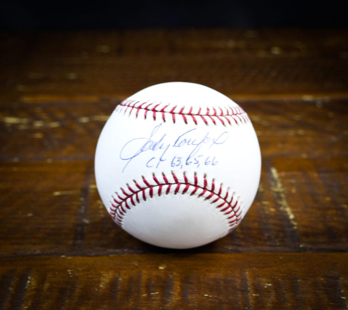 koufax ball