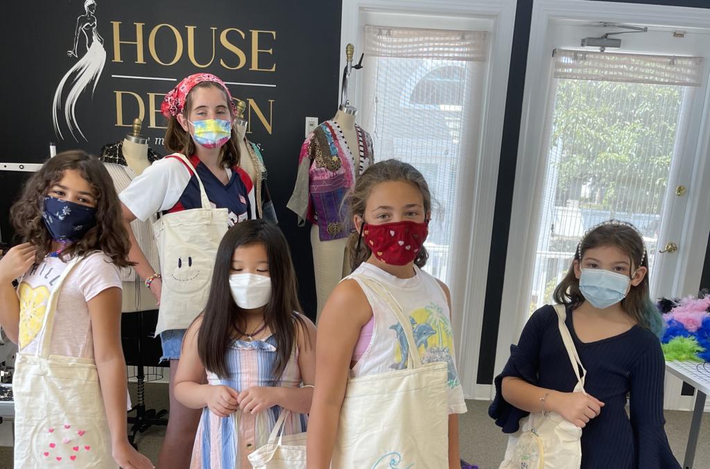 half day & full-day kids' fashion camp in NJ