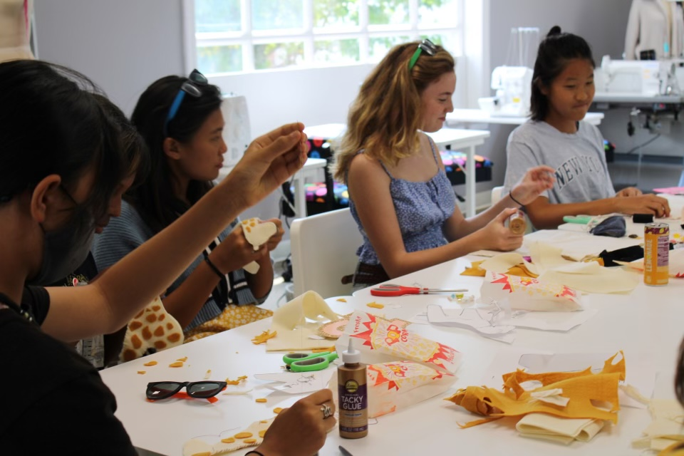 benefits of learning sewing for teens