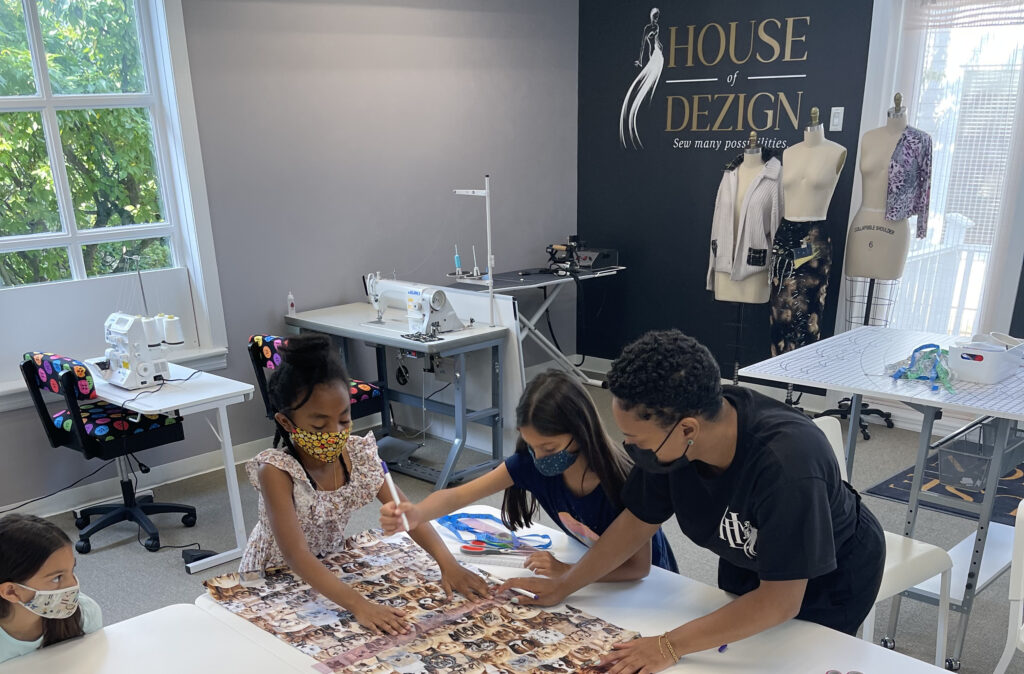 school holiday fashion camp for kids