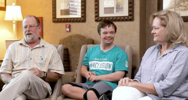 testimonials Down Syndrome
