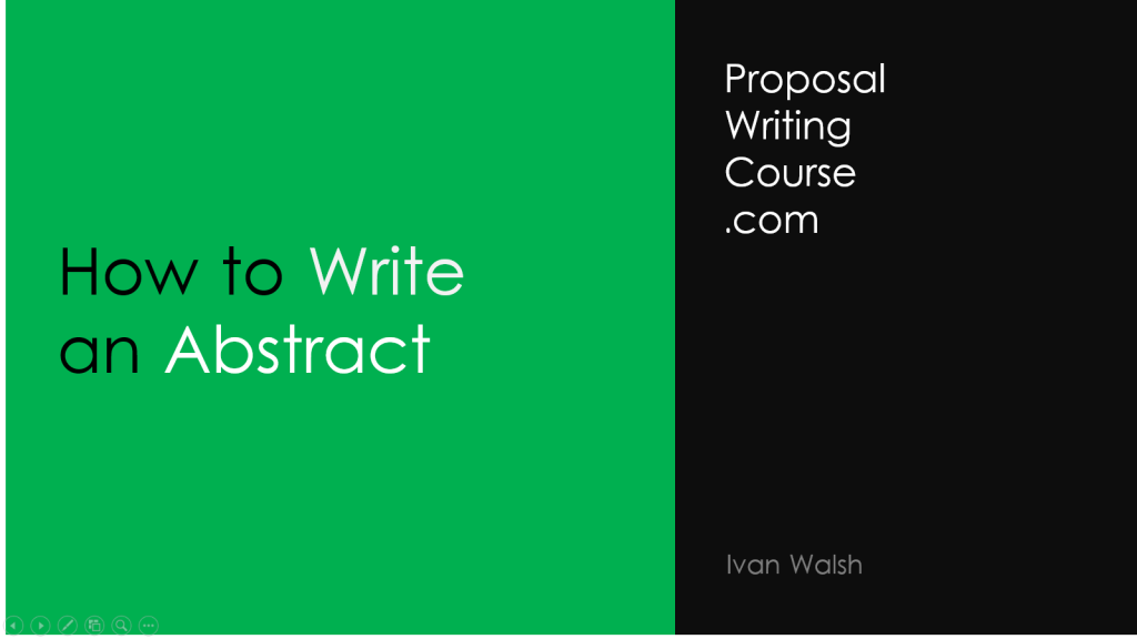 how-to-write-an-abstract