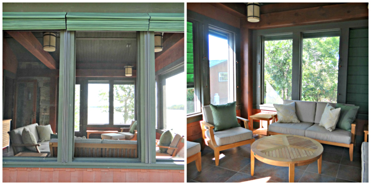 Furnishing the interior of your screen porch