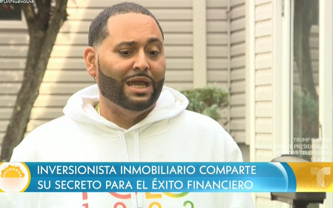 César Piña, el hispano que trabaja con Nicky Jam y estuvo preso | Un Nuevo Día | Telemundo
