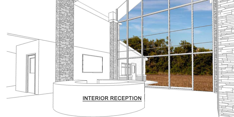 2-story daycare reception