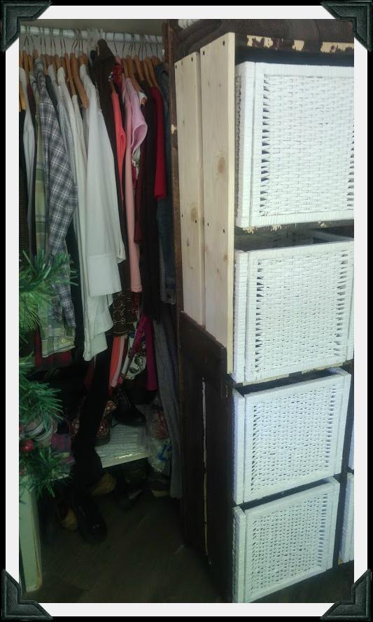 Barn Door - Shelving Unit