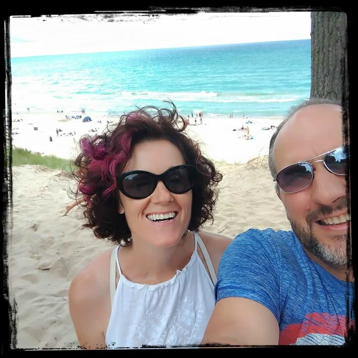 Kim & Fern At THe Beach