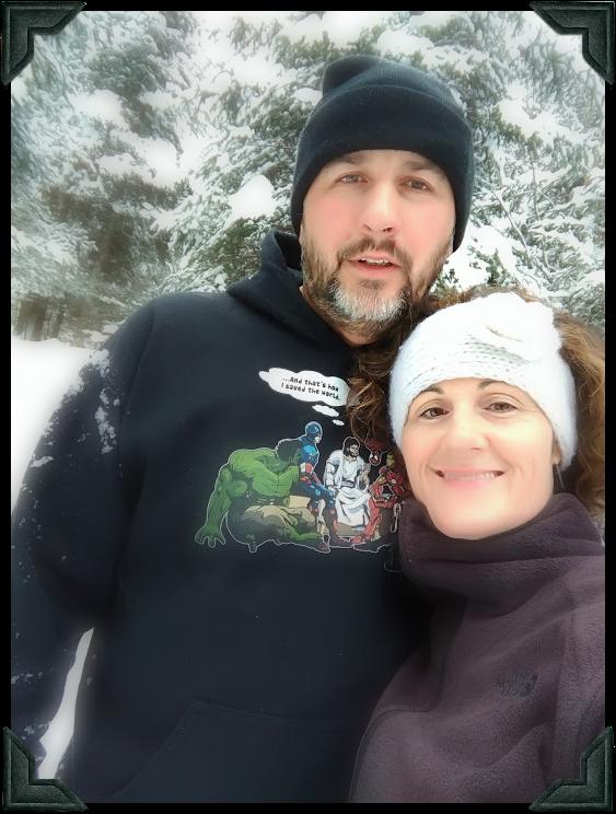 Kim & Fern in Eastern Quebec