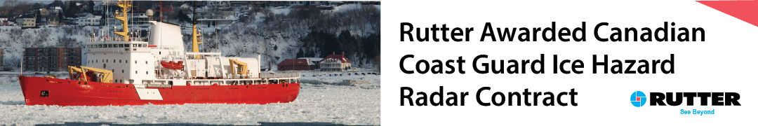 Rutter Awarded Canadian Coast Guard Ice Hazard Radar Contract