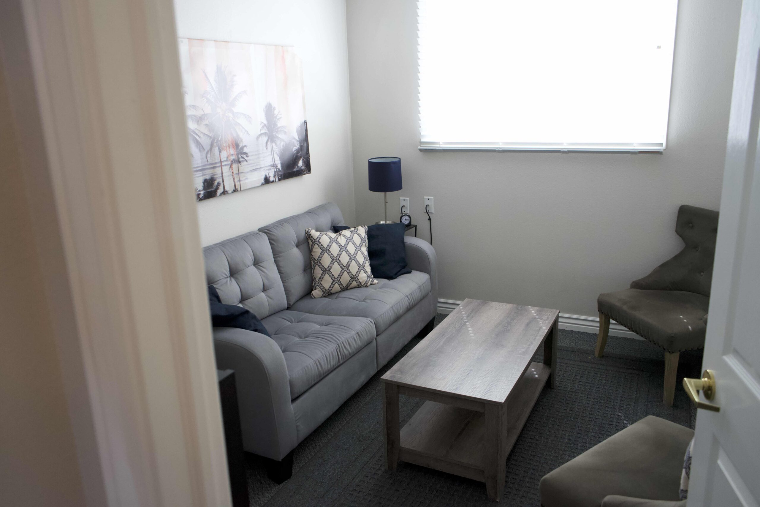 Unified Family Therapy Offices are comfortable and clean.