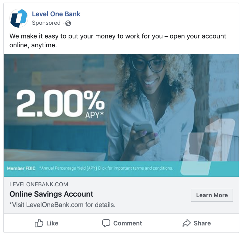level one rate ad