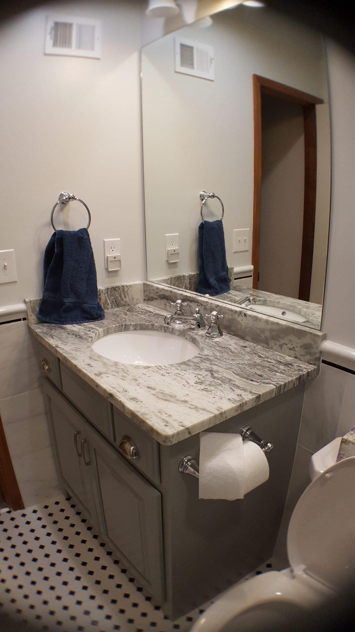 Steimetz Bathroom Remodel 707