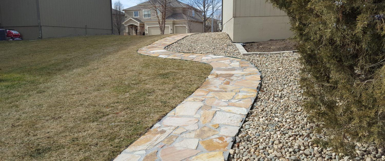 Ament stone walk way 2