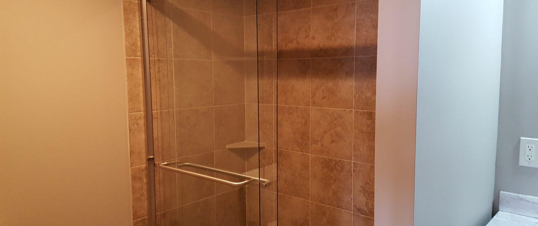Ament Basement Remodel Shower 2