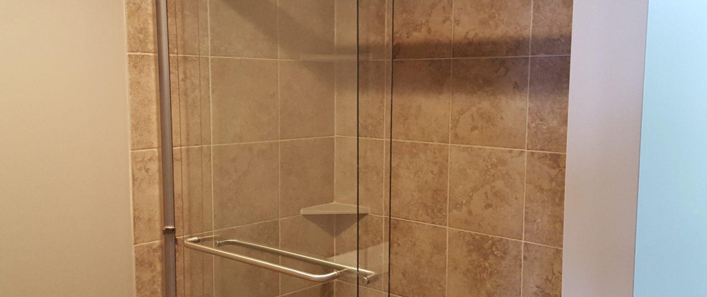 Ament Basement Remodel Shower