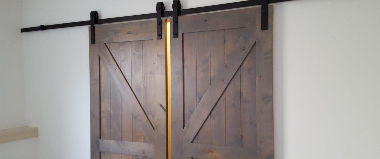 Ament Basement Remodel Farm Doors