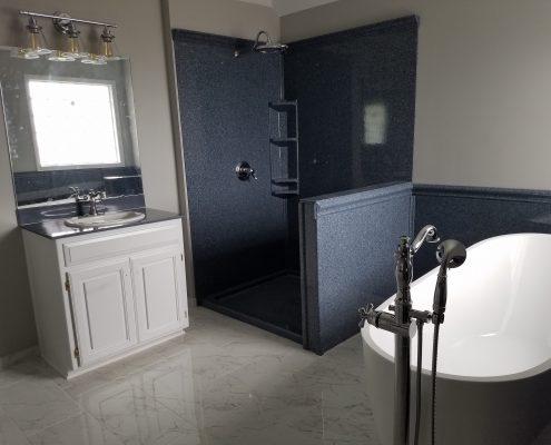 Hicks Bathroom Remodel Onyx Shower