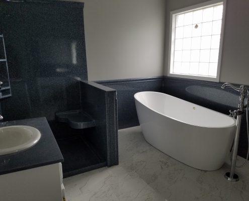 Hicks Bathroom Remodel soaker tub 2