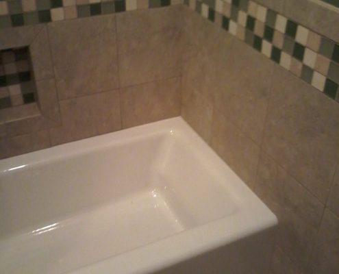 Hamilton Bath tile bath surround 2