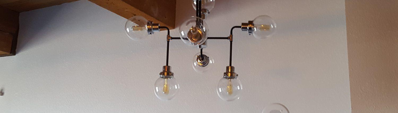 Francis Loft Remodel lights 2