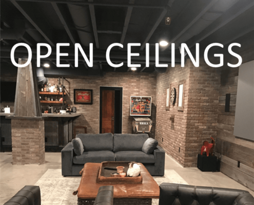 Open ceilings tile