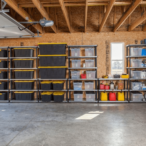 Organized garage 1