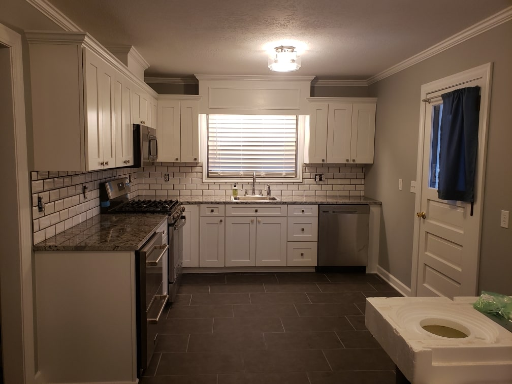 Completed Brown Kitchen 11