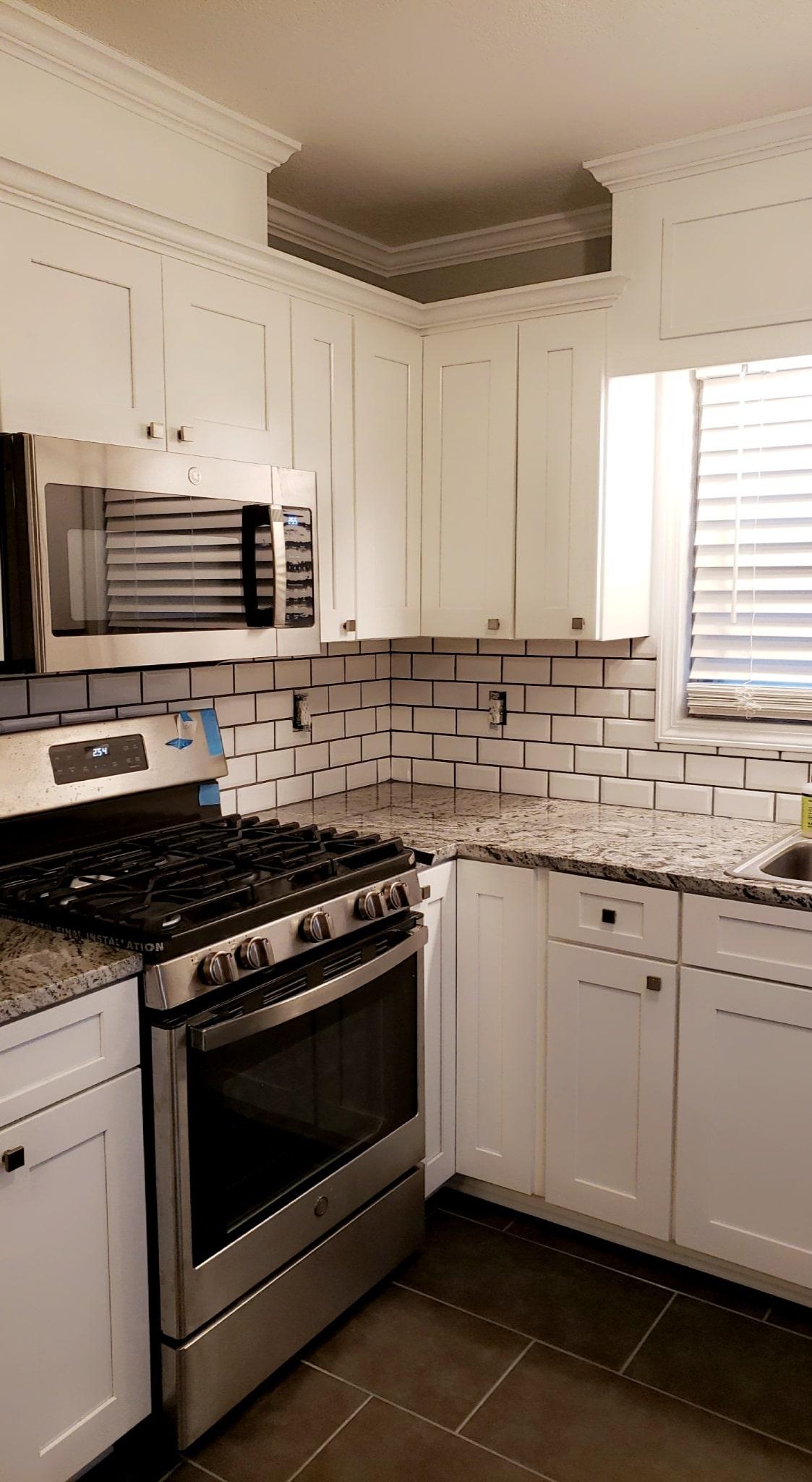 Brown Kitchen Remodel 14