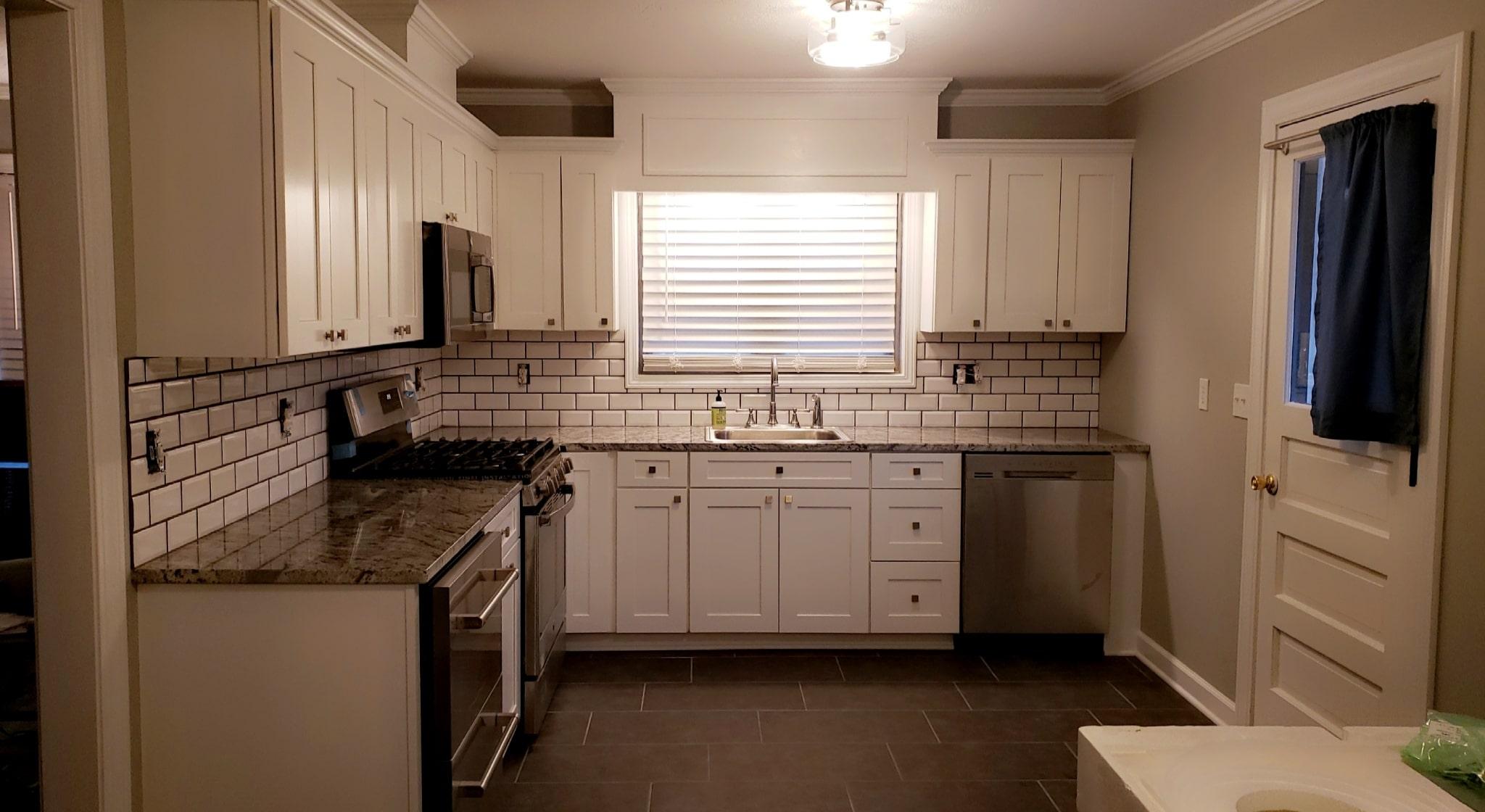 Brown Kitchen Remodel 15