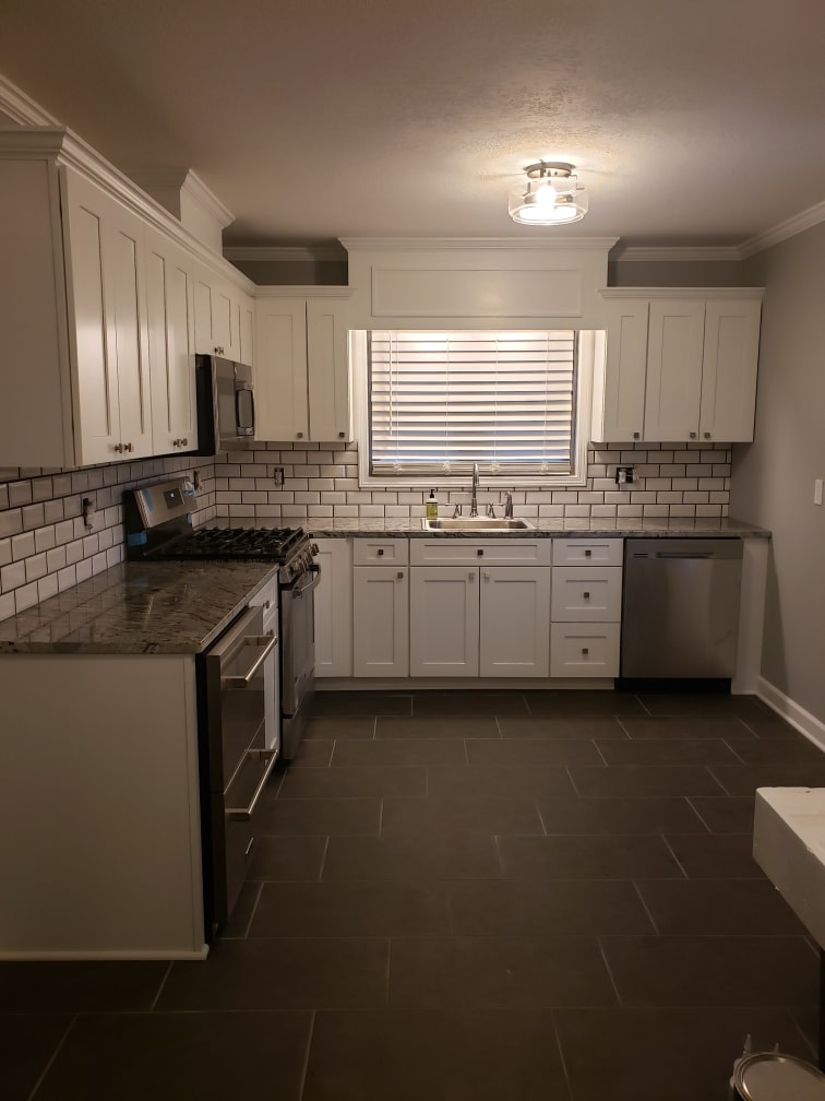 Completed Brown Kitchen 9