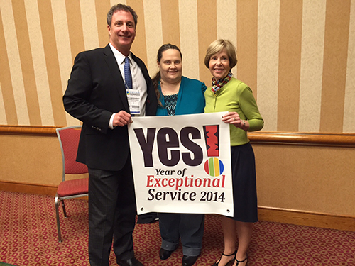 Westbank Dry Cleaning wins YESaward for exceptional customer service