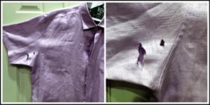 deodorant can ruin clothing
