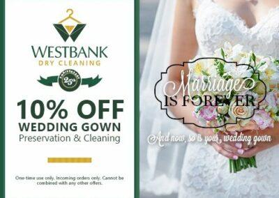 Wedding Dress Coupon