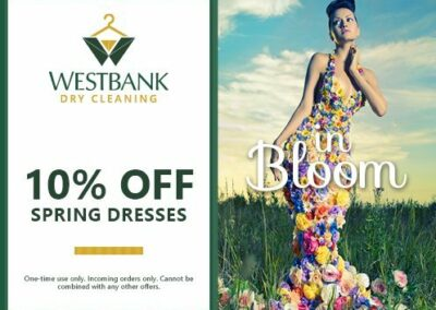 Westbank Dry Cleaning Coupon