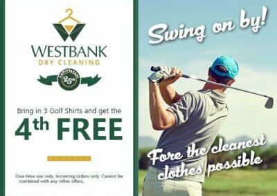 Westbank Golf Shirts Coupon