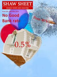 Cover Image No Good Bank Rate 10th May 2018 Baloons
