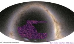 Dark energy sky map
