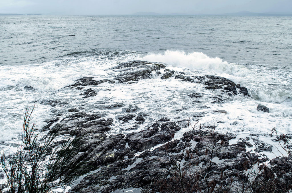 stormy seas, wind and waves