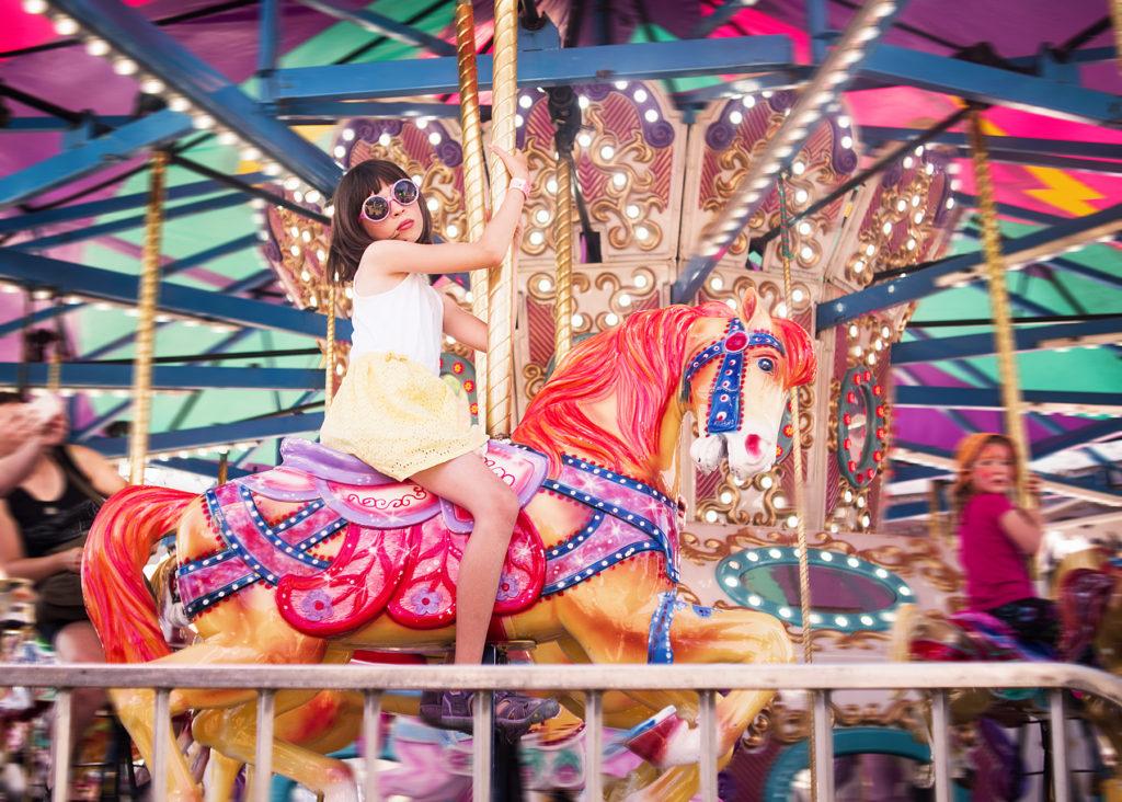 bright colours at the saanich fair