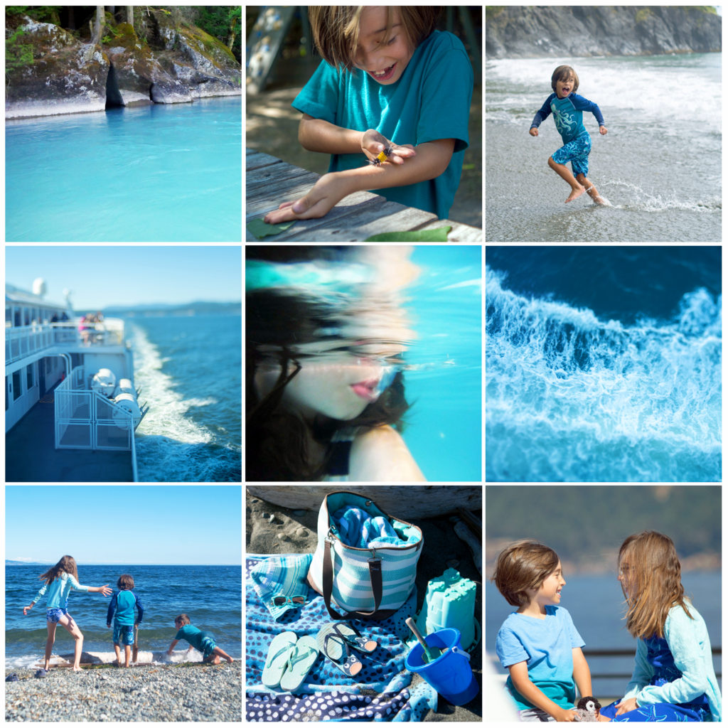 photos of aqua things for August