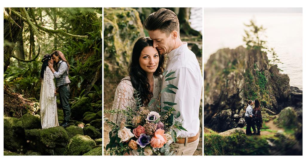 westcoast weddings couples