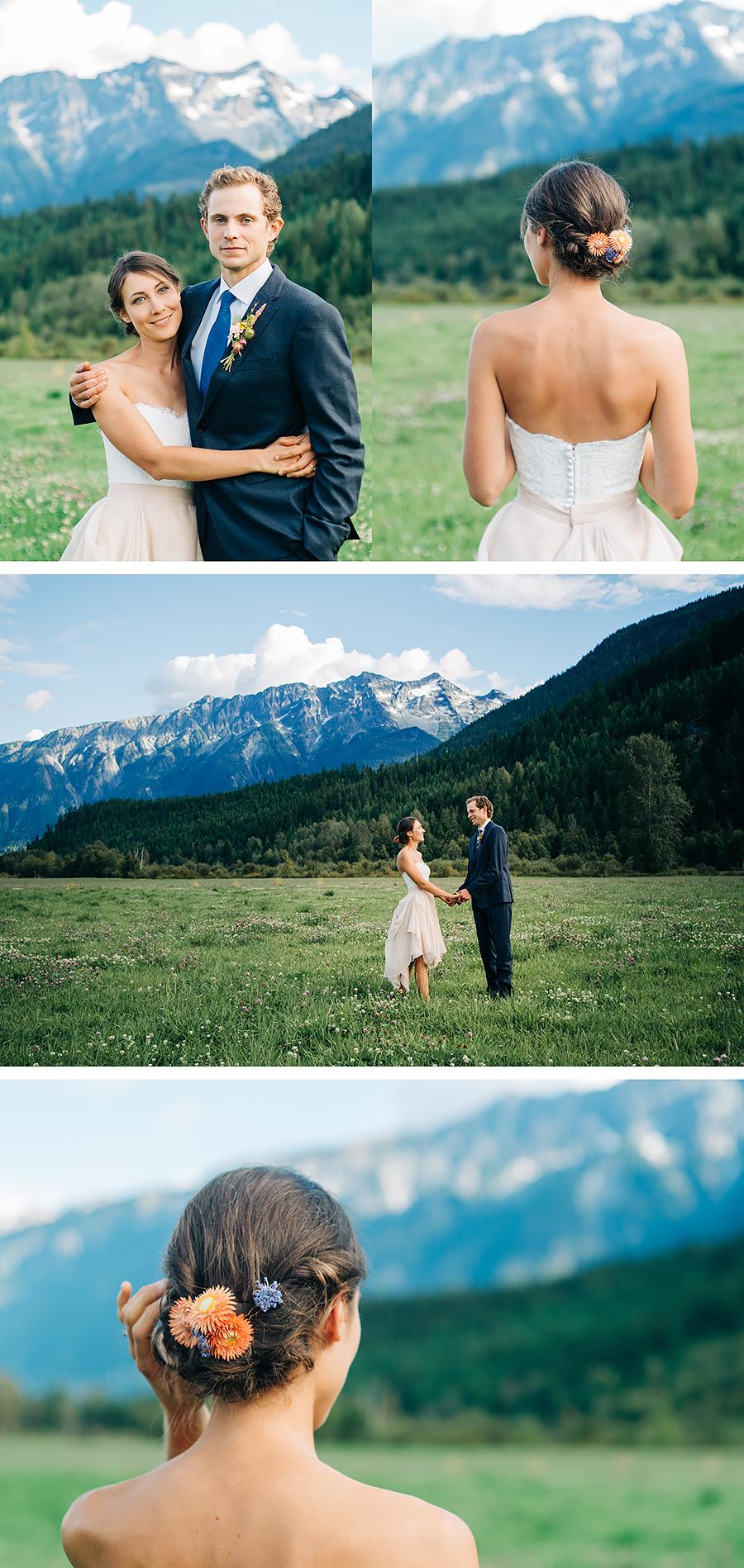 Pemberton BC wedding, plenty wild farm, pemberton meadows, farm wedding