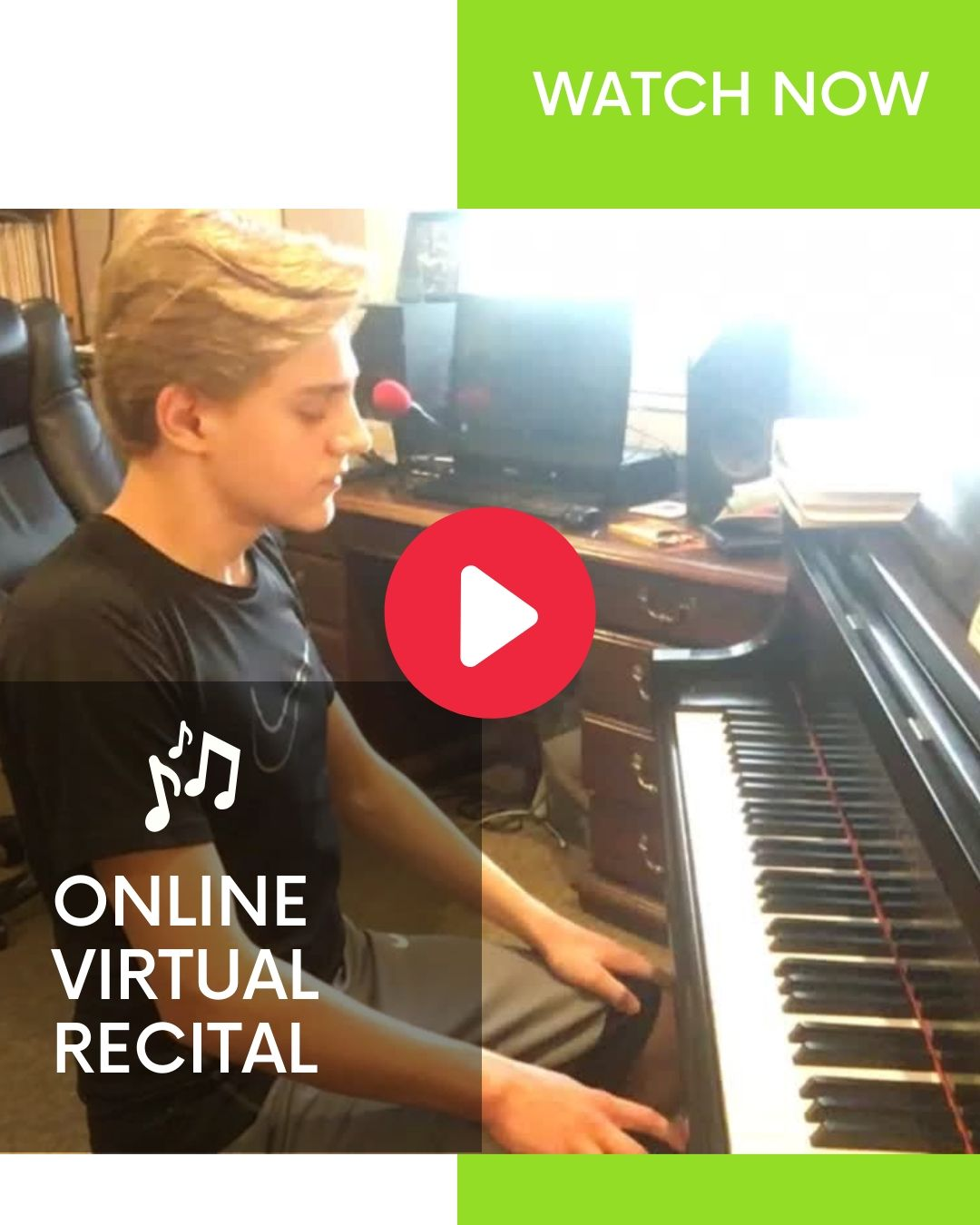 A video collection of student music performances
