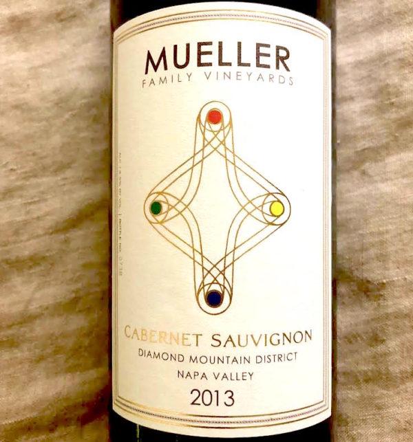 mueller cabernet 2013 label close