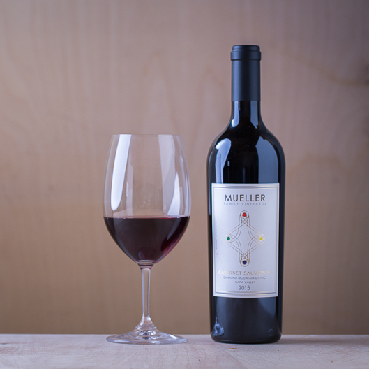 mueller cabernet sauvignon 2015 wine diamond mountain napa valley