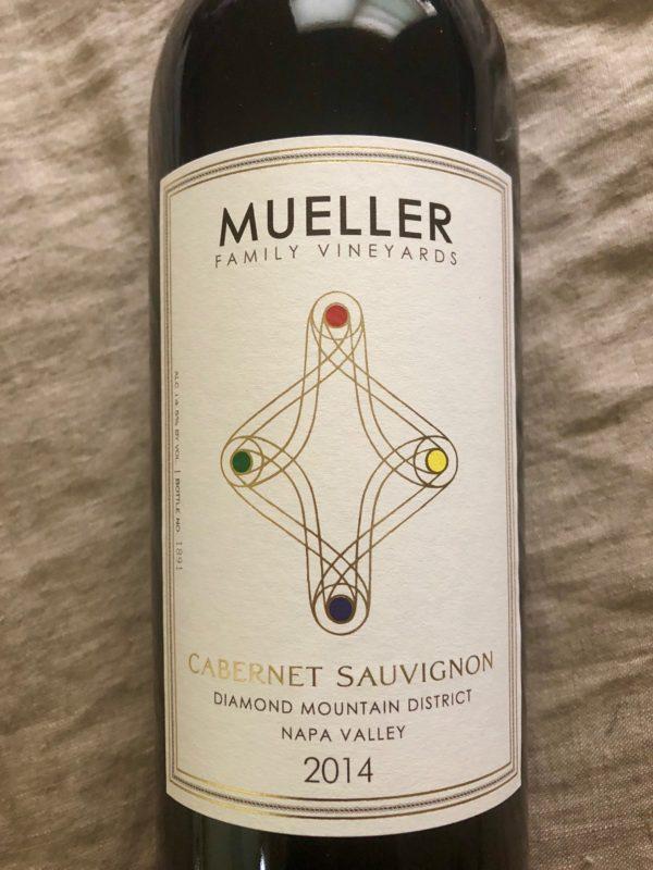 mueller family cabernet sauvignon wine 2014