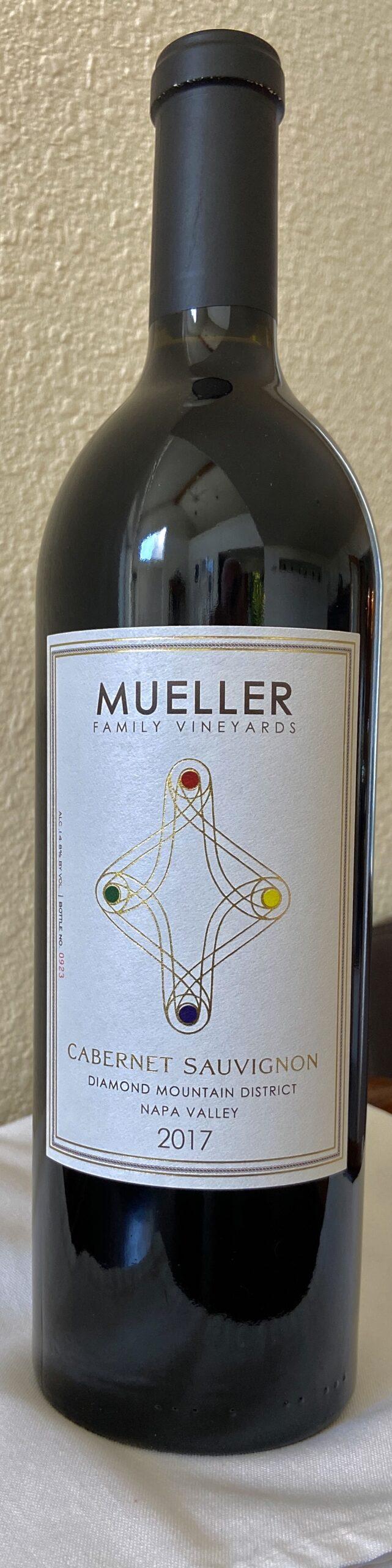 Mueller Family Vineyards 2017 Cabernet Sauvignon